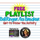 Back To School Free Playlist Icebreaker Activity