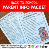Back To School - Letters, Posters, and Flashcards Freebie