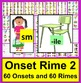 "Back To School Literacy Centers-Onset Rime Level 2 ""Find A"