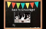Prezi Back To School Night Editable Template
