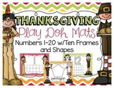 Thanksgiving Play Doh Mats