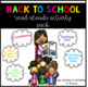 Back To School Read Alouds Activity Pack