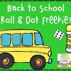 Back To School Roll & Dot