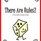 Back To School &quot;Rules&quot; Game