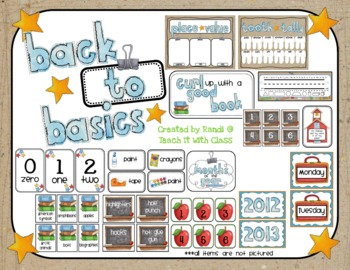 Back to Basics {Classroom Organization & Decor}
