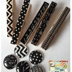 Back to Black Clothespins & Magnets {10 of each}