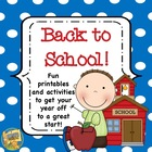 Back to School - 10 adorable activities to start the year off!