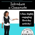 Back to School Activities - Introduce a Classmate