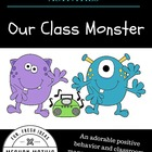 Back to School Activities - Our Class Monster
