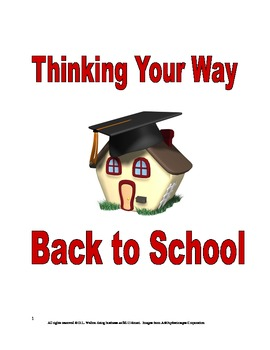 Back to School Activities: Thinking Your Way Back to School