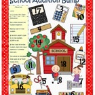 Back to School Addition and Subtraction Bump (1.OA.6, 2.OA.2)