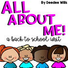 Back to School:  All About Me