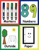 Back to School Alphabet Cards, Bingo & Memory Match - incl