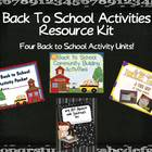 Back to School: An Activity Resource Kit