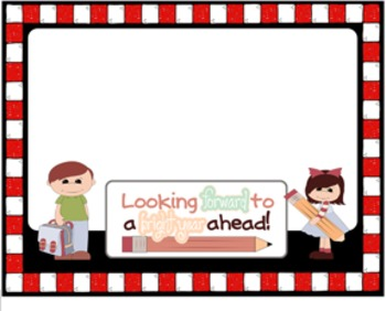 Back to School Background for SMART Board - FREEBIE