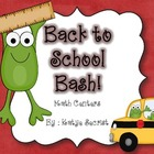 Back to School Bash Math Centers {Common Core Aligned}