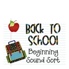 Back to School: Beginning Sound Sort