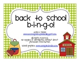 Back to School Bingo! {A game for getting to know your new class}
