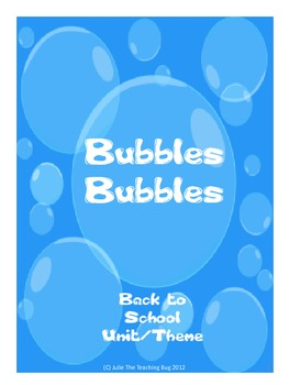 Back to School Bubble Unit