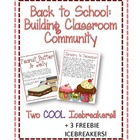 Back to School: Building a Classroom Community (Two Cool I