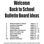 Back to School Bulletin Board Ideas and Patterns
