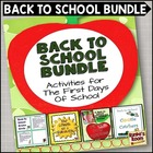 Back to School Bundle for Upper Grades