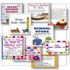 Back to School Bundled Set (A Not So Wimpy Resource)