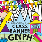 Back to School Bunting - Glyph Activity - Classroom Decoration