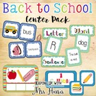 Back to School Center Set