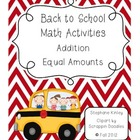 Back to School - Common Core Activities