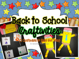 Back to School Craftivities {2 Craftivities to Start the Year}