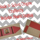 Back to School Crayon Craftivity