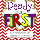 Back to School ELA Common Core Assessments for First Grade