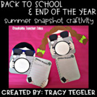 Back to School &amp; End of the Year Summer Snapshot Craftivity