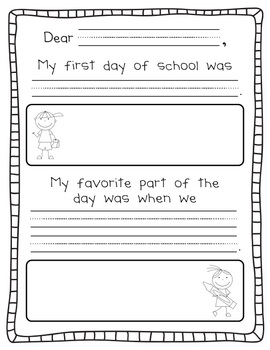 Back to School FREEBIE! {Letter to Parents}