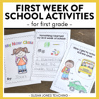 Back to School - First Week Fun!