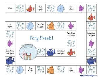 Back to School - Fishy Friends Game