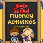 Back to School Fluency Activities