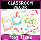Back to School - Frogs