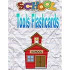 Back to School Fun: School Tools Flashcards