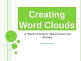 Back to School Getting to Know You Activity - Creating Wor