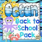 Back to School Kit - Ocean Theme
