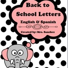 Back to School Letters to Parents (English/Spanish)