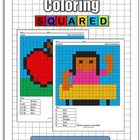 Back to School Math Coloring