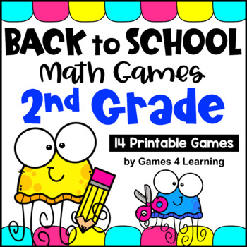 Back to School - Math Games Second Grade