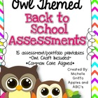 Back to School Owl Pack