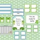 Frogs Hopping Classroom Pack-back to school