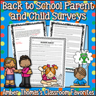 Back to School:  Parent Survey (About Their Kids)