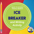 Back to School People Search Handout - Icebreaker