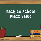Back to School Place Value Center